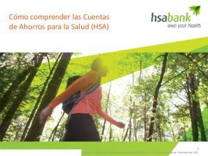 Cómo comprender las Cuentas de Ahorros para la Salud (HSA)
