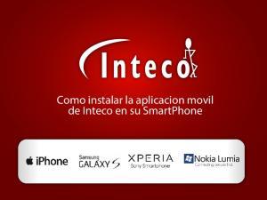 Como instalar la aplicacion movil de Inteco en su SmartPhone