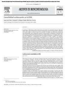 Comorbilidad cardiovascular en la EPOC