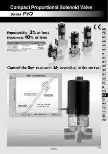 Compact Proportional Solenoid Valve