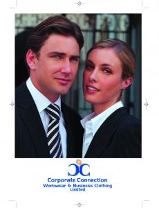 company information pages 4-5 choosing your next corporate collection pages 6-7 the Performance Collection