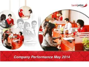 Company Performance May 2014