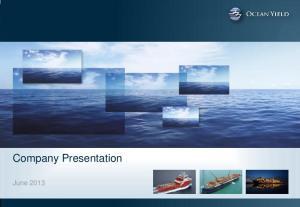 Company Presentation. June 2013