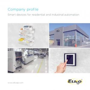 Company profile. Smart devices for residential and industrial automation