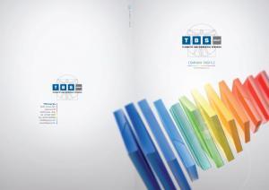 Company Profile.  TBS Group Spa