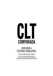 COMPARADA CONFORME A REFORMA TRABALHISTA