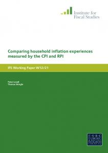 Comparing household inflation experiences measured by the CPI and RPI