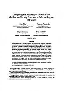 Comparing the Accuracy of Copula-Based Multivariate Density Forecasts in Selected Regions of Support