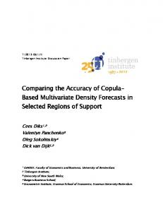 Comparing the Accuracy of Copula- Based Multivariate Density Forecasts in Selected Regions of Support
