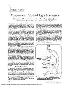 Compensated Polarized Light Microscopy