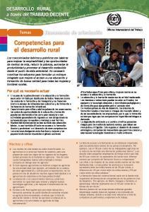 Competencias para el desarrollo rural