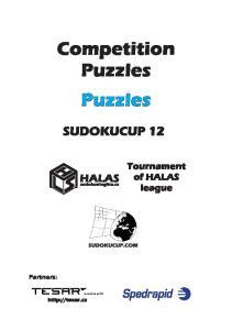 Competition Puzzles Puzzles