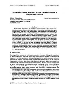 Competitive Safety Analysis: Robust Decision-Making in Multi-Agent Systems