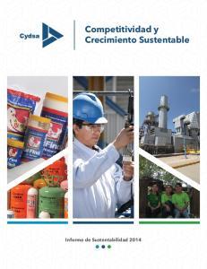 Competitividad y Crecimiento Sustentable