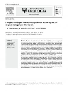 Complete androgen insensitivity syndrome: a case report and surgical management illustration