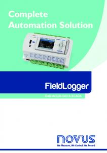 Complete Automation Solution. FieldLogger. Data Acquisition & SCADA