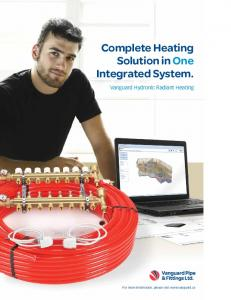 Complete Heating Solution in One Integrated System