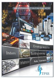 COMPLETE POWER QUALITY SOLUTIONS FROM TREFFER