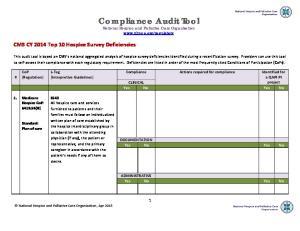 Compliance Audit Tool