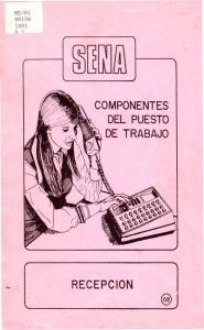 COMPONENTES DEL PUESTO DE TRABAJO