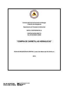 COMPRA DE CARRETILLAS HIDRAULICAS