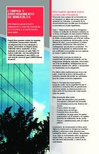 COMPRA Y ARRENDAMIENTO DE INMUEBLES