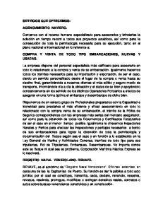 COMPRA Y VENTA DE TODO TIPO EMBARCACIONES, NUEVAS Y USADAS