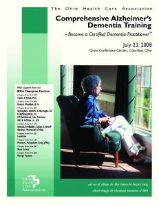 Comprehensive Alzheimer s Dementia Training -