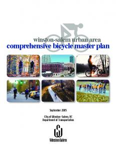 comprehensive bicycle master plan