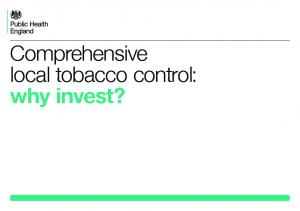Comprehensive local tobacco control: why invest?