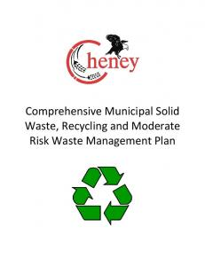 Comprehensive Municipal Solid Waste, Recycling and Moderate Risk Waste Management Plan