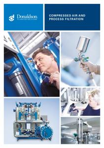 COMPRESSED AIR AND PROCESS FILTRATION