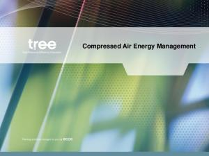 Compressed Air Energy Management