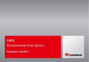 Compressed Air Foam System