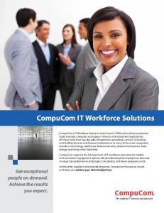 CompuCom IT Workforce Solutions