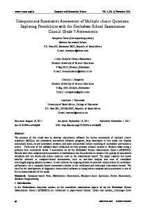 Computer and Information Science Vol. 4, No. 6; November 2011