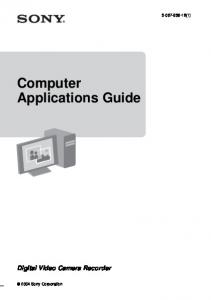 Computer Applications Guide