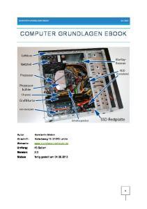 COMPUTER GRUNDLAGEN EBOOK