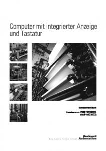 Computer mit integrierter Anzeige und Tastatur