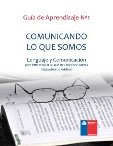 COMUNICANDO LO QUE SOMOS