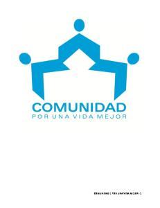 COMUNIDAD POR UNA VIDA MEJOR -1