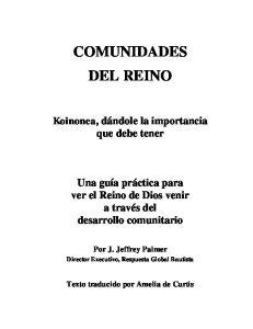 COMUNIDADES DEL REINO