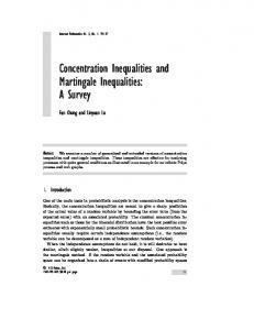 Concentration Inequalities and Martingale Inequalities: A Survey