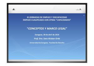CONCEPTOS Y MARCO LEGAL