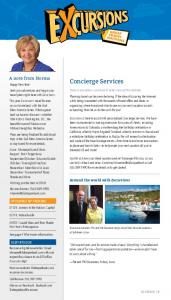 Concierge Services. Around the world with Excursions