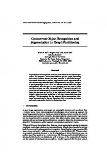 Concurrent Object Recognition and Segmentation by Graph Partitioning