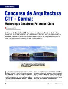Concurso de Arquitectura CTT - Corma: