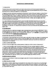 CONDICIONES DE COMPRA MATARRANZ