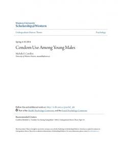 Condom Use Among Young Males
