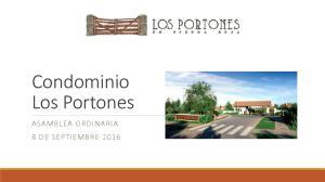 Condominio Los Portones